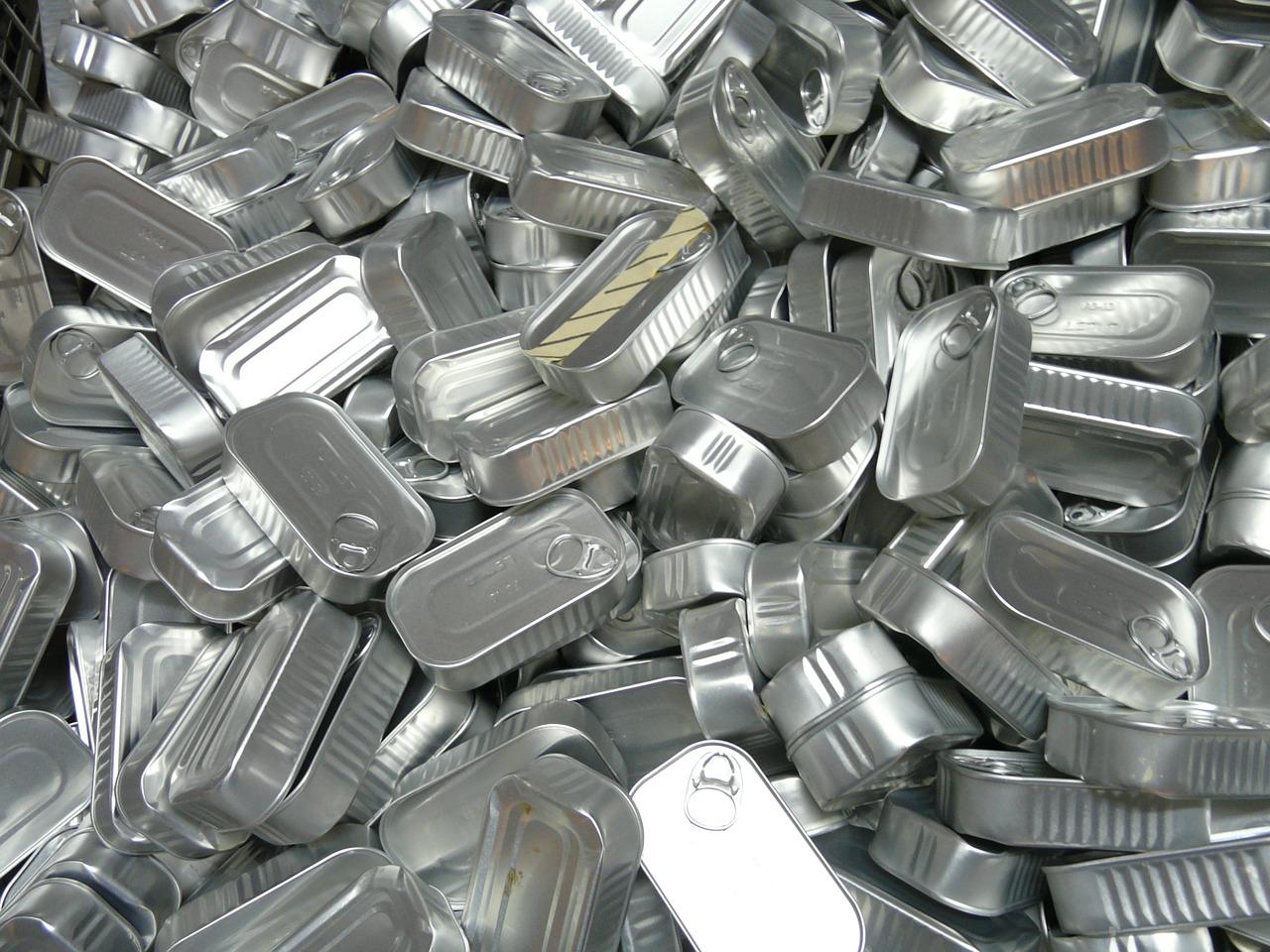 une barquette aluminium au micro-onde